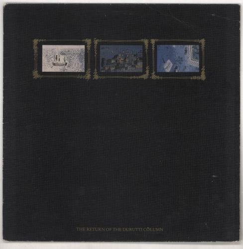 The Durutti Column The Return Of... vinyl LP album (LP record) UK DTILPTH733408