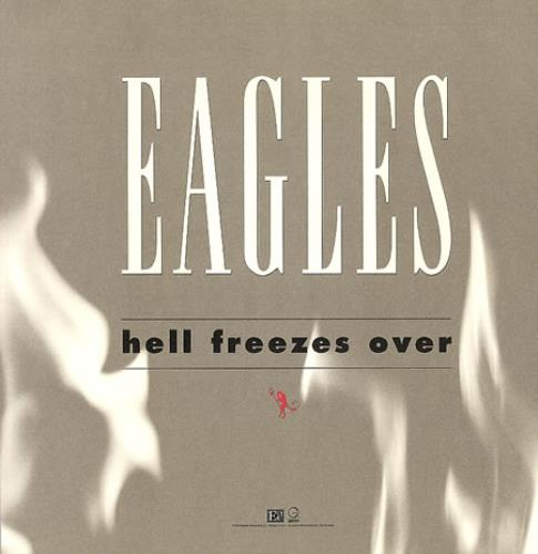 The Eagles Hell Freezes Over Us Promo Display 158339