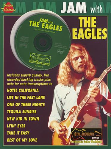 The Eagles Jam With The Eagles UK book (396864) 1-85909-442-2
