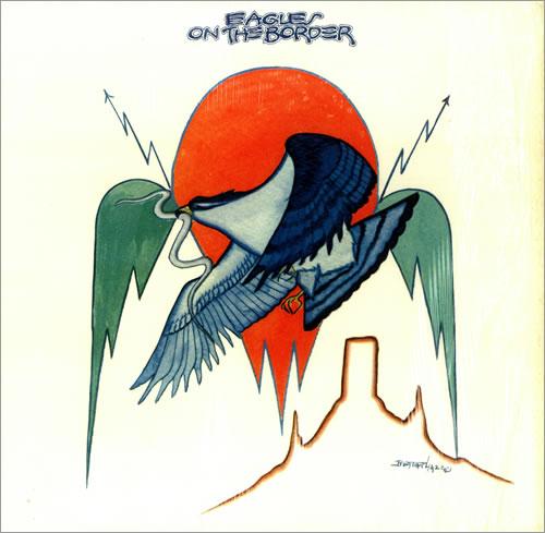 The Eagles On The Border Insert Us Vinyl Lp Album Lp