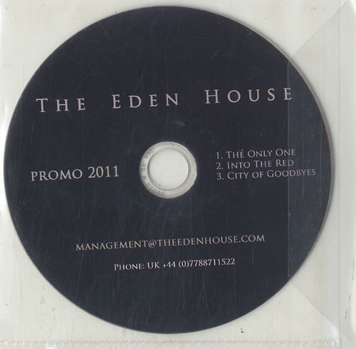 The Eden House The Only One 2-disc CD/DVD set UK HOJ2DTH631254
