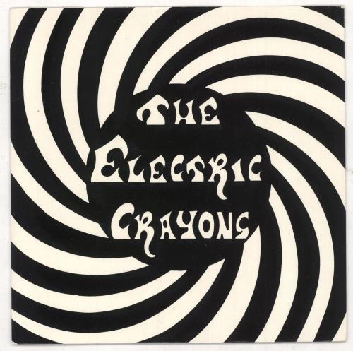 "The Electric Crayons Hip Shake Junkie 7"" vinyl single (7 inch record) UK ECR07HI732902"