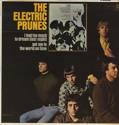 The Electric Prunes The Electric Prunes - MONO vinyl LP album (LP record) US EPRLPTH405795