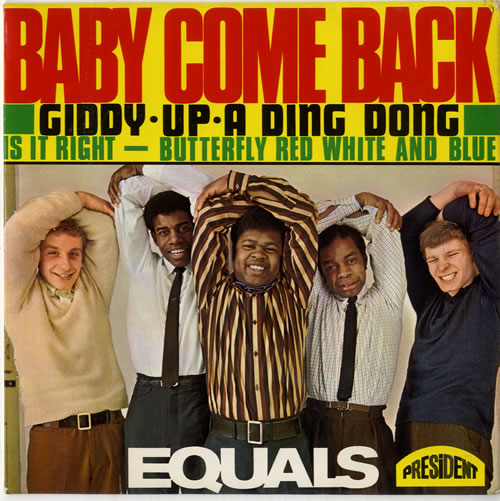 "The Equals Baby, Come Back EP 7"" vinyl single (7 inch record) UK EQU07BA591506"