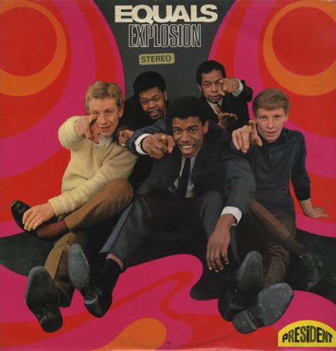 The Equals Equals Explosion vinyl LP album (LP record) UK EQULPEQ365849