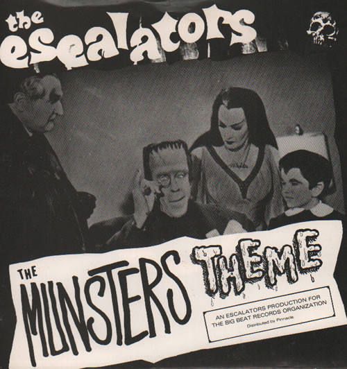 "The Escalators The Munsters Theme 7"" vinyl single (7 inch record) UK XL707TH636633"