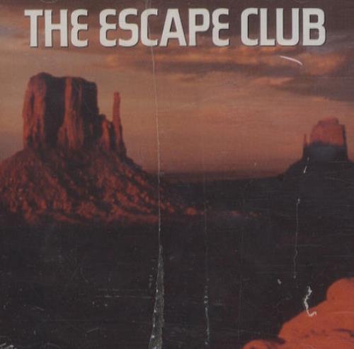 "The Escape Club Walking Through Walls CD single (CD5 / 5"") US ECCC5WA245546"