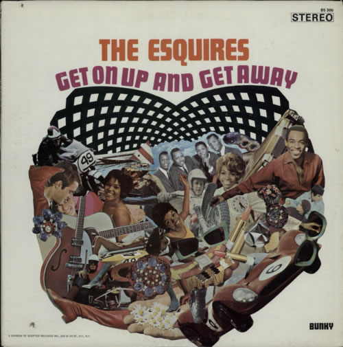 The Esquires Get On Up And Get Away vinyl LP album (LP record) US V9ILPGE598923