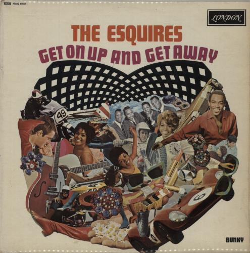 The Esquires Get On Up And Get Away vinyl LP album (LP record) UK V9ILPGE682245