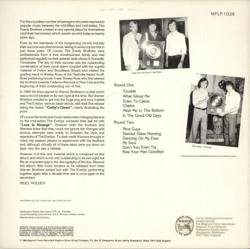 The Everly Brothers Nice Guys vinyl LP album (LP record) UK EBRLPNI720314