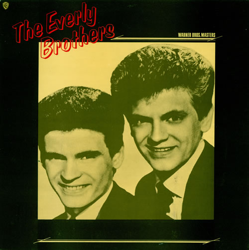 The Everly Brothers Roots vinyl LP album (LP record) UK EBRLPRO458607