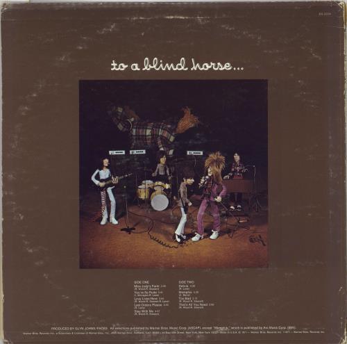 The Faces A Nod Is As Good As A Wink... - 1st vinyl LP album (LP record) US FCELPAN766860