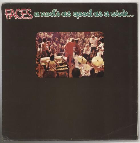 The Faces A Nod's As Good As A Wink... - 1st + Poster - VG vinyl LP album (LP record) UK FCELPAN673549