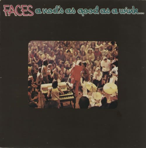 The Faces A Nod's As Good As A Wink... vinyl LP album (LP record) UK FCELPAN66540