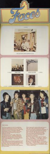 The Faces In Concert + Postcard Pack tour programme UK FCETRIN751615