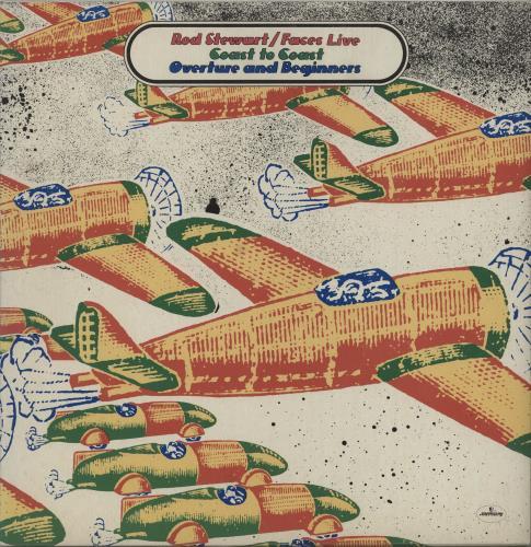 The Faces Live Coast To Coast - Overture And Beginners - EX vinyl LP album (LP record) UK FCELPLI667150