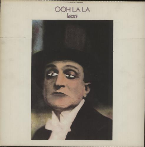 The Faces Ooh La La - 1st + Poster - EX vinyl LP album (LP record) UK FCELPOO105171