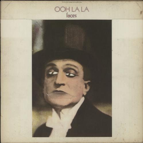 The Faces Ooh La La - 1st vinyl LP album (LP record) UK FCELPOO599917