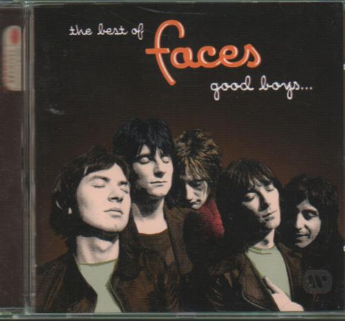 The Faces The Best of The Faces - Good Boys...When They're Asleep CD album (CDLP) UK FCECDTH650441