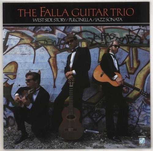 The Falla Guitar Trio West Side Story / Pulcinella / Jazz Sonata vinyl LP album (LP record) German 006LPWE739018