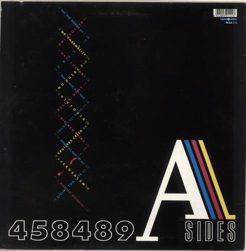 The Fall 458489 A Sides vinyl LP album (LP record) UK FLLLPAS572005