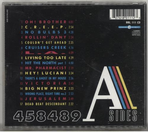 The Fall 458489 A Sides CD album (CDLP) UK FLLCDAS697274