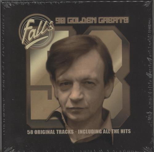 The Fall 58 Golden Greats 3-CD album set (Triple CD) UK FLL3CGO730256