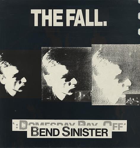 The Fall Bend Sinister vinyl LP album (LP record) UK FLLLPBE245073