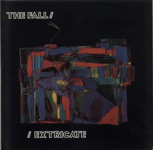 The Fall Extricate - EX vinyl LP album (LP record) UK FLLLPEX542410