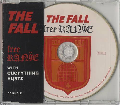 """The Fall Free Range CD single (CD5 / 5"""") UK FLLC5FR30445"""