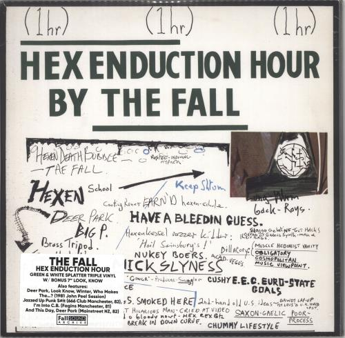 "The Fall Hex Enduction Hour - White & Green Vinyl + Bonus 7"" - Sealed 3-LP vinyl record set (Triple Album) UK FLL3LHE732548"