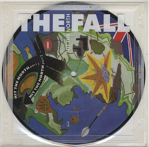"The Fall Hit The North 7"" vinyl picture disc 7 inch picture disc single UK FLL7PHI70739"