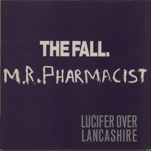 "The Fall Mr. Pharmacist 12"" vinyl single (12 inch record / Maxi-single) UK FLL12MR366970"