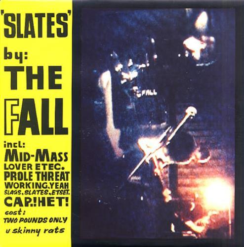 "The Fall Slates 10"" vinyl single (10"" record) UK FLL10SL13341"