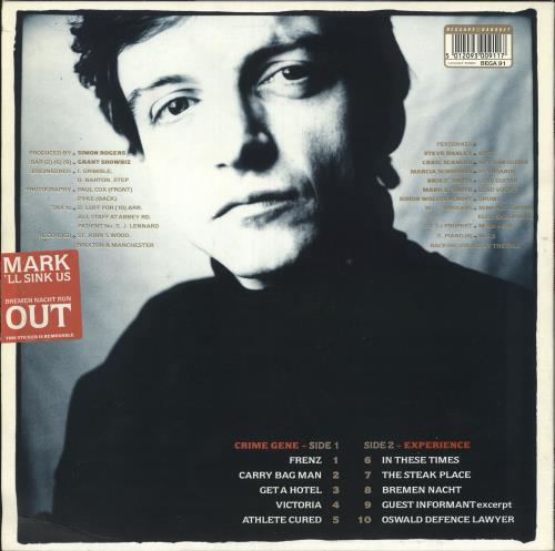 "The Fall The Frenz Experiment + Bonus 7"" - EX vinyl LP album (LP record) UK FLLLPTH684750"