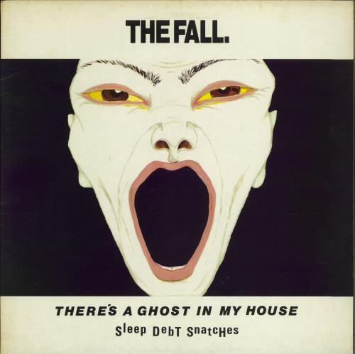 "The Fall There's A Ghost In My House - Gatefold 12"" vinyl single (12 inch record / Maxi-single) UK FLL12TH684591"
