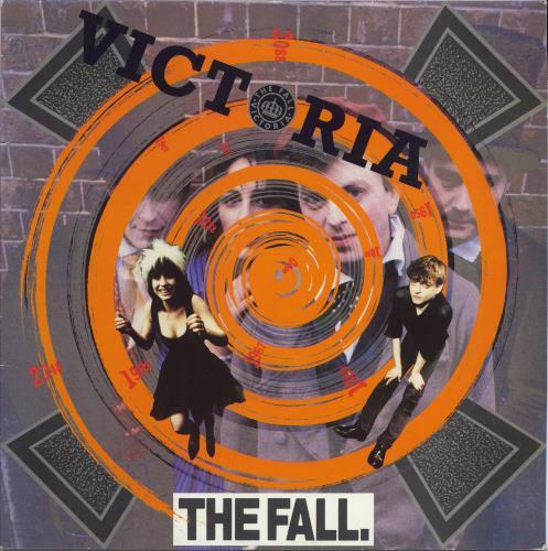 """The Fall Victoria 12"""" vinyl single (12 inch record / Maxi-single) UK FLL12VI102280"""