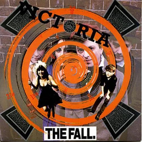 """The Fall Victoria 7"""" vinyl single (7 inch record) UK FLL07VI182479"""