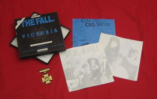 "The Fall Victoria 7"" box set UK FLL7XVI191089"