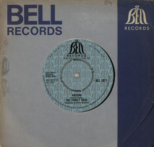 "The Family Dogg Arizona 7"" vinyl single (7 inch record) UK FMD07AR569645"