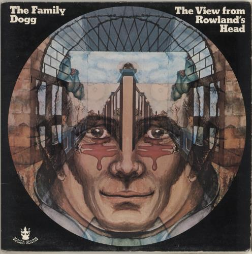 The Family Dogg The View From Rowland's Head vinyl LP album (LP record) UK FMDLPTH713569