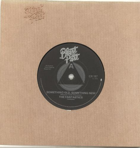 "The Fantastics Something Old, Something New 7"" vinyl single (7 inch record) UK T9F07SO694568"