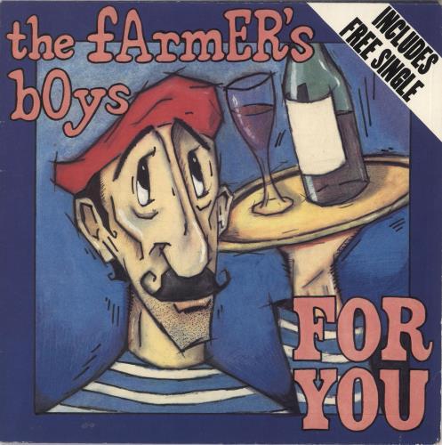"The Farmers Boys For You + Free Single 7"" vinyl single (7 inch record) UK FBO07FO452556"