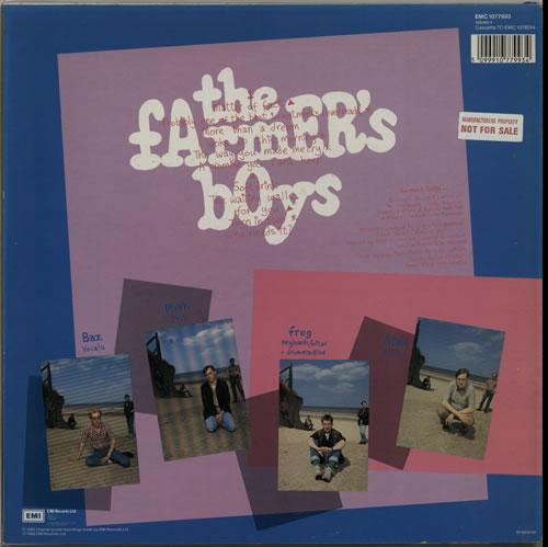 "The Farmers Boys Get Out & Walk + Bonus 12"" - Sample vinyl LP album (LP record) UK FBOLPGE628490"