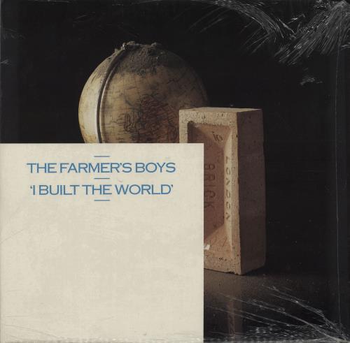 """The Farmers Boys I Built The World 12"""" vinyl single (12 inch record / Maxi-single) UK FBO12IB754435"""