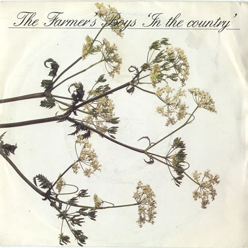 """The Farmers Boys In The Country 7"""" vinyl single (7 inch record) UK FBO07IN600581"""