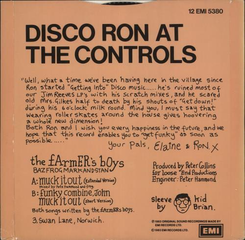 "The Farmers Boys Muck It Out! 12"" vinyl single (12 inch record / Maxi-single) UK FBO12MU723683"