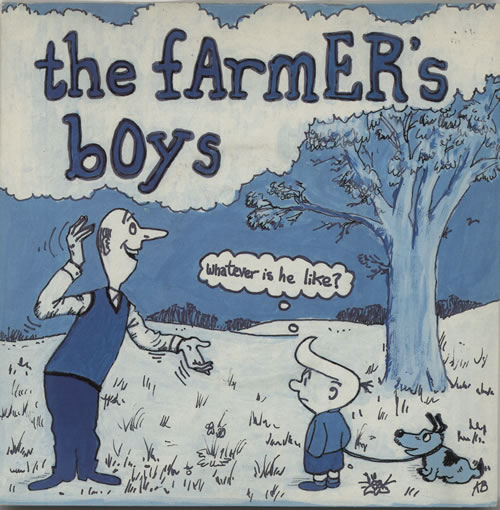 """The Farmers Boys Whatever Is He Like? 7"""" vinyl single (7 inch record) UK FBO07WH634488"""