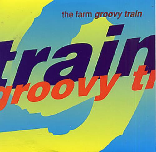 """The Farm Groovy Train CD single (CD5 / 5"""") UK FARC5GR41410"""