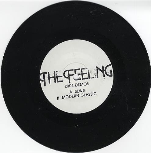 "The Feeling 2005 Demos 7"" vinyl single (7 inch record) UK FE207DE371242"